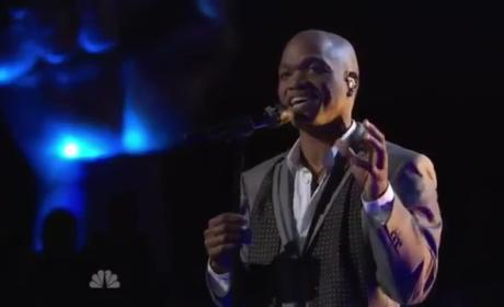 "Jesse Campbell - ""What a Wonderful World"" (The Voice)"