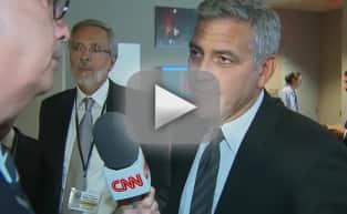 George Clooney Learns of Brangelina Divorce