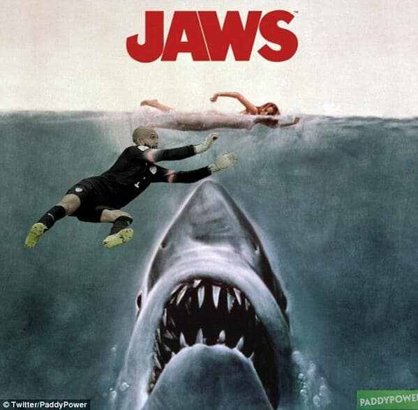 Tim Howard Saves a Swimmer!