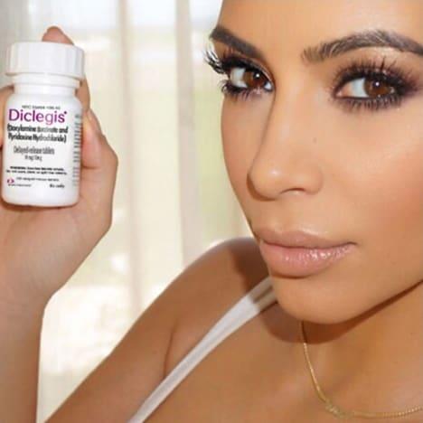 Kim Kardashian for Diclegis