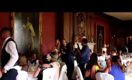 Groom Scares You-Know-What Out of Bride