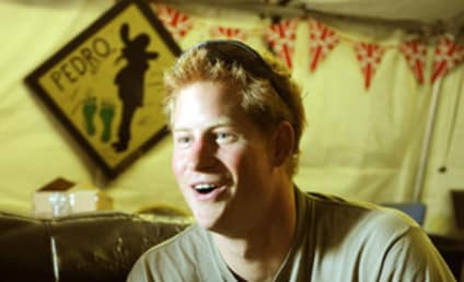 """Prince Harry Likens War to Video Games, Accused of Having """"Mental Problems"""" By Taliban"""