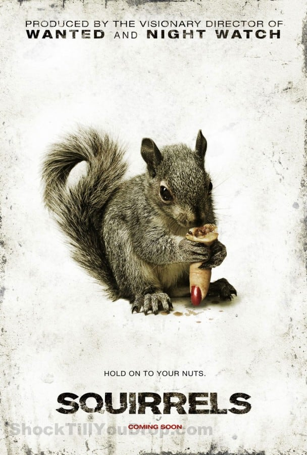 Squirrels Poster