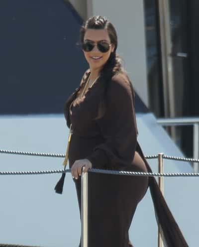 Kim Kardashian in Greece