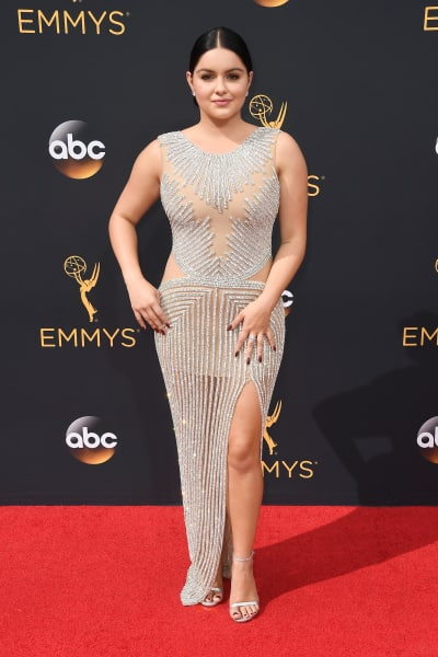 Ariel Winter 2016 Emmy Awards Pose Pic