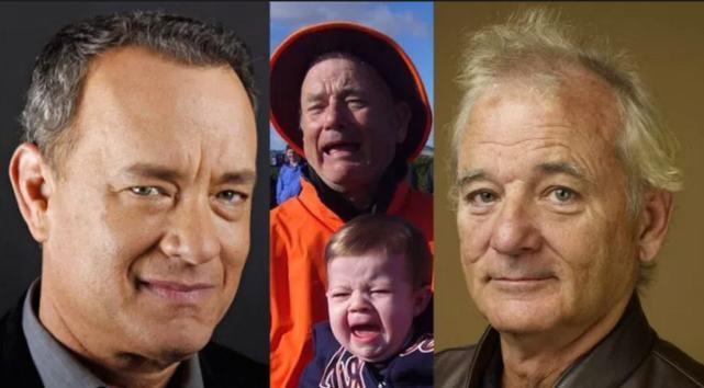 Tom Hanks and Bill Murray