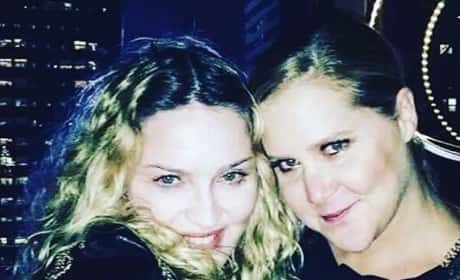 Madonna and Amy Schumer