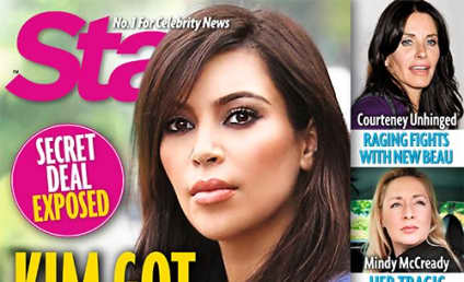 "Kim Kardashian ""Used Kanye for Sperm,"" Tabloid Claims"