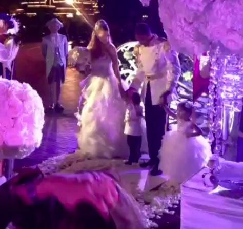 Mariah Carey and Nick Cannon at Disneyland