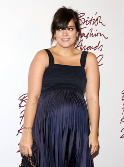 Lily Allen Red Carpet Pic