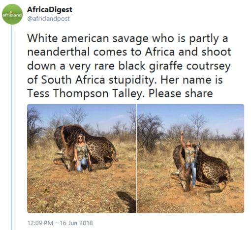 Africa Digest tweet