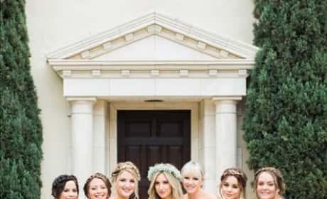 Vanessa Hudgens as a Bridesmaid