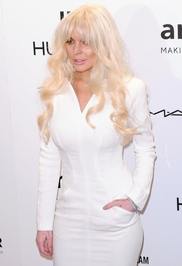 Lindsay Lohan's New Hair