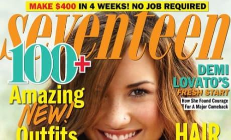 Demi Lovato Seventeen Cover