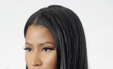Nicki Minaj Gets Serious