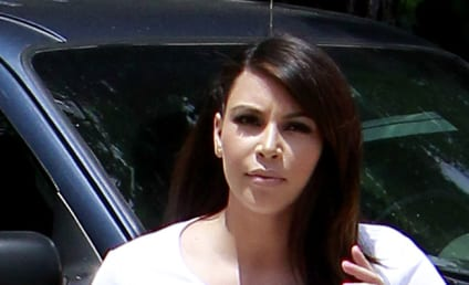 Kim Kardashian Baby Weight Update: Still There