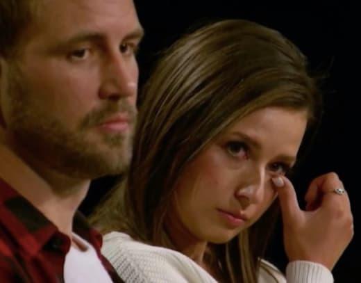 Katie Thurston Cries