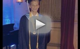 Cody Simpson graduates high school top of his class