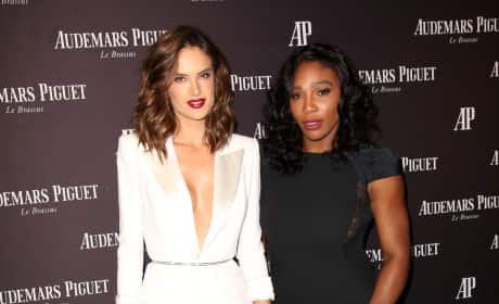 Alessandra Ambrosio and Serena Williams: Audemars Piguet Rodeo Drive Opening