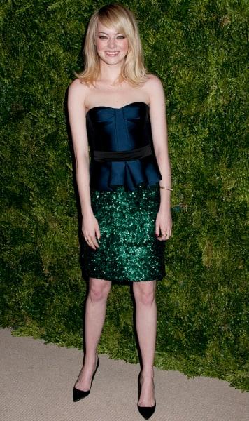 Emma Stone, Dress