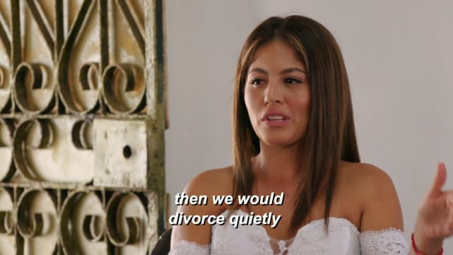Evelin villegas then we would divorce quietly