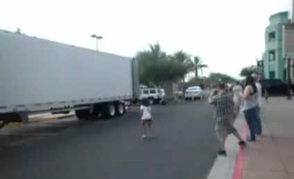 Jusin Bieber Rides Segway, Narrowly Escapes Mauling