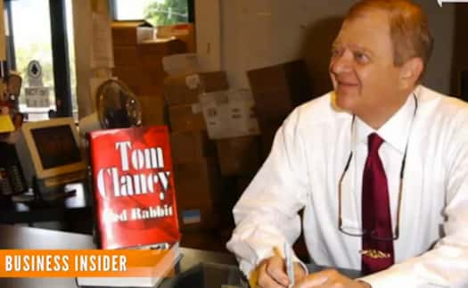 Tom Clancy Dies Best Selling Author Was 66 The
