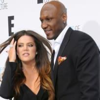 Lamar and Khloe Kardashian-Odom