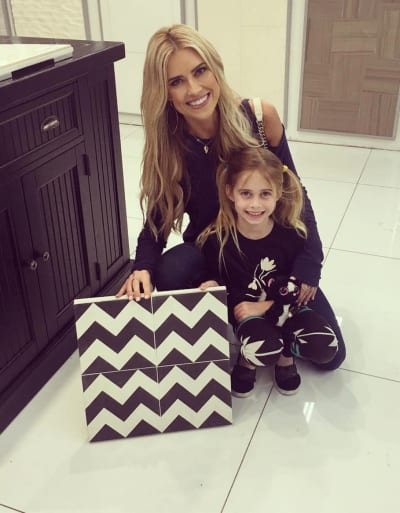 Christina El Moussa with Daughter
