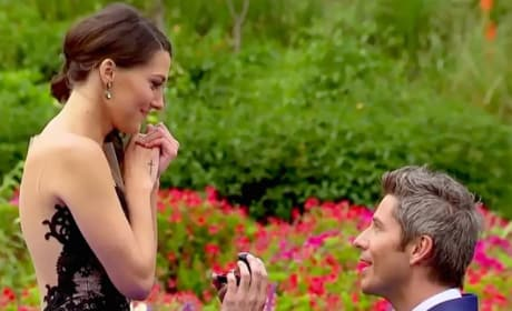 Arie Proposes to Becca