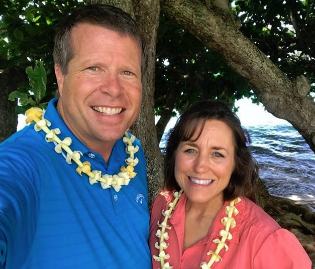 Jim Bob Duggar and Michelle Duggar on Vacation