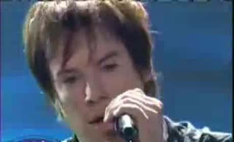 "David Cook, ""Billie Jean"""