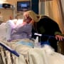 Duane chapman kisses beth chapman in the hospital