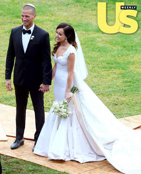 Ashley Hebert Wedding Dress