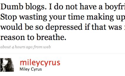 Miley Cyrus Tries to Shoot Down Rumor of Liam Hemsworth Hook-Up