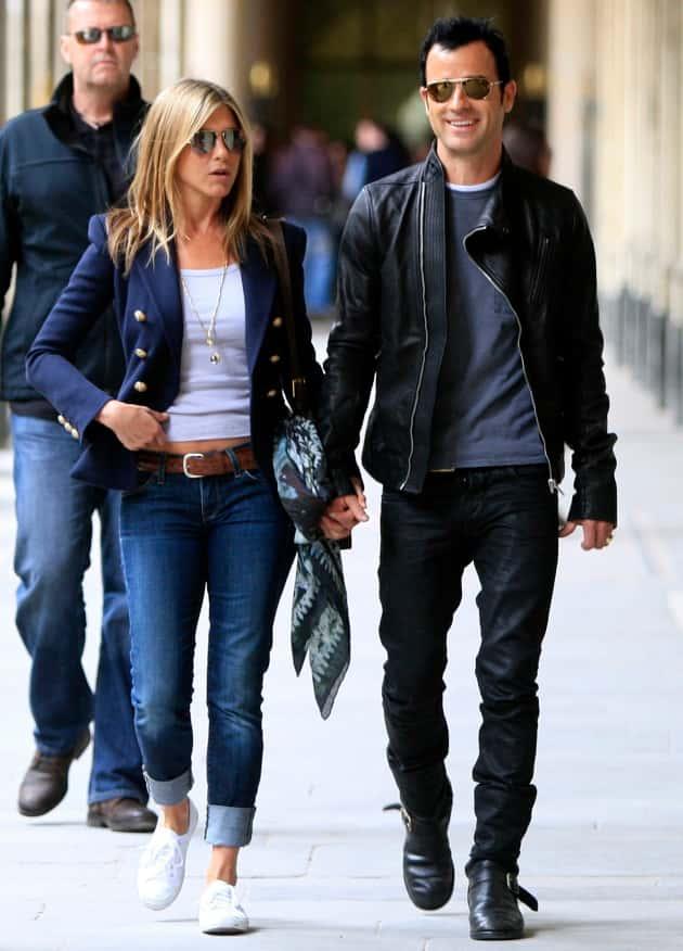 Jennifer Aniston And Justin Theroux Engaged Happy 44th Birthday, J...