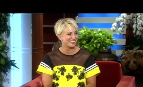 Kaley Cuoco Talks Hairstyles
