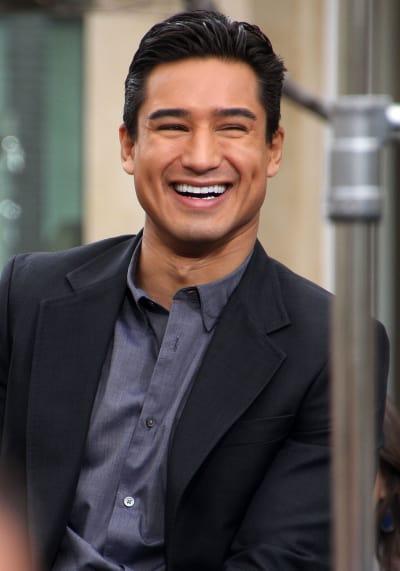 Mario Lopez Smile