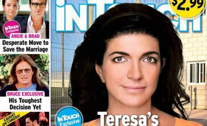 "Teresa Giudice: Makeup-Free ""Prison Photo"" Covers Tabloid!"