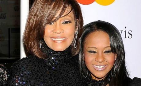 Whitney and Bobbi Kristina Picture