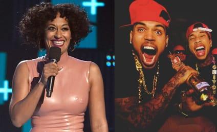 Tracee Ellis Ross: Throwing Shade at Tyga and Chris Brown at BET Awards?