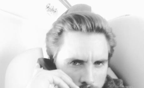 Scott Disick on the Phone