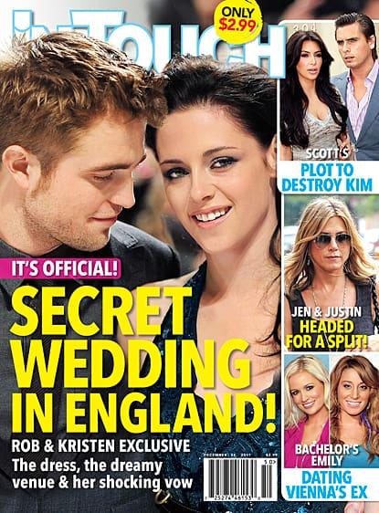 The Secret Robsten Wedding