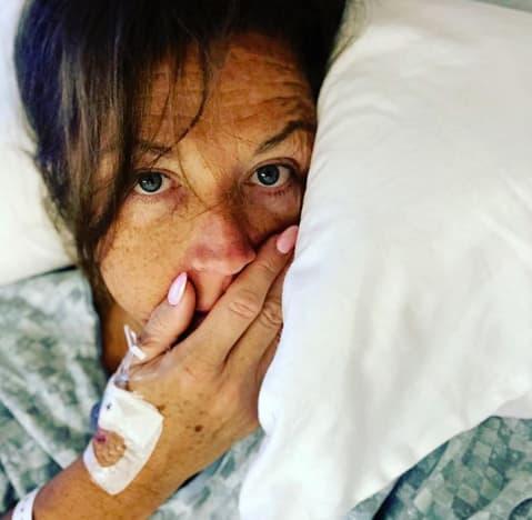 Abby Lee Miller, Hospital Selfie