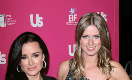 Kyle Richards and Nicky Hilton: US Weekly's Hot Hollywood Event 2010