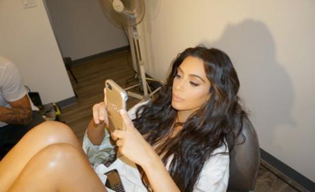 Kim Kardashian on Facebook