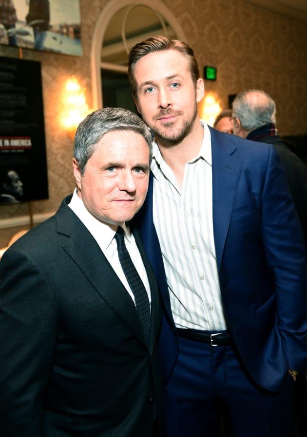 Brad Grey and Ryan Gosling