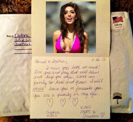 Farrah Abraham Letter