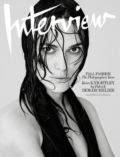 Keira Knightley Interview Cover