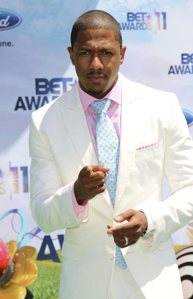 Nick Cannon at the BET Awards